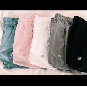 iso lululemon shorts